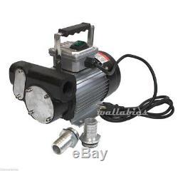 Self Priming Electric Oil Pump Transfer Fuel Diesel 110V AC 16GPM