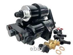 1000ch Efi External Hi Flow Pompes De Carburant Filtre À Tripleracket Pour 044 Bosch Style