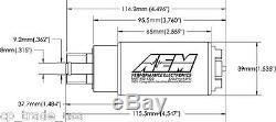 Aem 50-1220 High Flow E85 Dans La Pompe Du Réservoir 340 Lph Universal Installer Kit