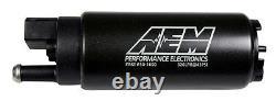 Aem High Flo In-tank 340 Lph Fuel Pump Honda CIVIC Acura Integra Eg DC Ek