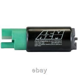 Aem High Flow E85 340lph Kit De Pompe À Carburant Dans Le Réservoir 65mm 50-1220 Pour Hyundai-mazda