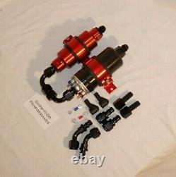 Bosch Style Pompe Électrique Efi Haute Pression Avec Filtre Red, Bracket 250psi