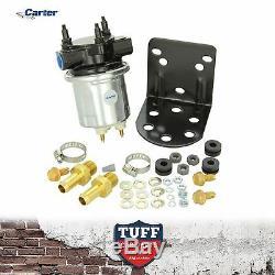 Carter 4600 Argent Pompe À Essence Électrique P4600hp Holley Alternative 100gph 6-8 Psi