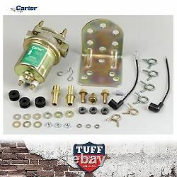 Carter D'or 4070 Concours Pompe À Carburant Électrique Externe 4-6 Psi + Support P4070