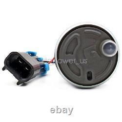 Convient À Walbro E85 Racing Fuel Pump 450lph Haute Pression Avec Install Kit F90000274