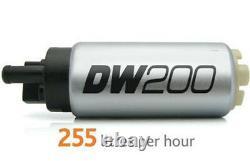 Deatschwerks 255 Lph Pompe À Carburant Dans Le Réservoir + Kit D'installation 9-201-0791 Wrx Sti Forester