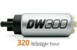 Deatschwerks Dw300 V2! Pompe À Carburant Et Kit D'installation Pour Subaru Wrx Sti 02-07 Nouveau