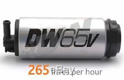 Deatschwerks Dw65v Pompe À Carburant Avec Le Programme D'installation Kit Audi Vw 1.8t 9-654-1025 A4 Tt Golf