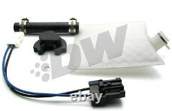 Deatschwerks Dw 255 Lph Pompe À Carburant + Kit D'installation 9-201-0791 Subaru Wrx Sti Fxt