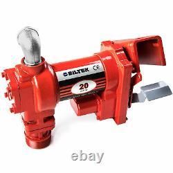 Electric 12v DC Pompe De Transfert De Carburant Diesel Kérosène Huile Commerciale Auto Portable