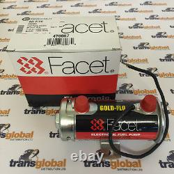 Facet Silver Top Cylindrical Electric Fuel Pump For Race Rally Kit Car 476087e