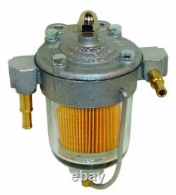 Facette 12v Electric Fuel Pump 40105 & Malpassi 67mm Filter King Regulator 8mm Kit