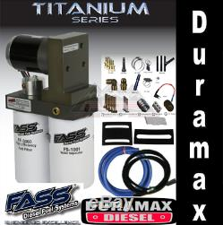 Fass Titanium Signature Pompe À Essence 100gph 01-10 Chevy / Gmc Duramax 6.6 Ts C10 100g