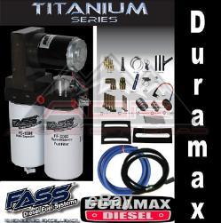 Fass Titanium Signature Pompe À Essence 165gph 01-10 Chevy / Gmc Duramax 6.6 Ts C10 165g