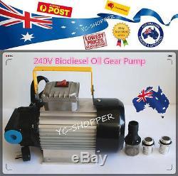 Heavy Duty Diesel 240v Biodiesel Gear Oil Pompe De Transfert