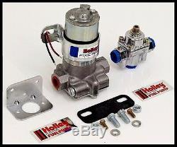 Holley 110 Gph Pompe Bleu Électrique De Carburant Avec Régulateur # 12-802-1-kit