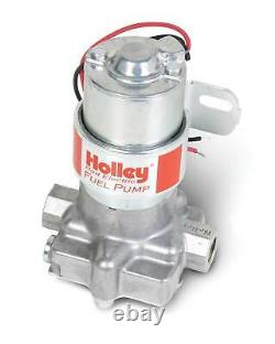 Holley 12-801-1 Red Rotor Vane Pompe À Combustible Électrique 97 Gph 7 Psi 3/8 Npt In/out