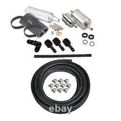 Holley 526-5 Kit Système De Carburant Efi Pompe À Combustible, Filtres 3/8 Vapor Guard Sniper
