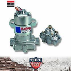 Holley Bleu 110 Gph Pompe À Carburant Électrique Avec Régulateur De Pression De Carburant 12-802-1 Nouveau
