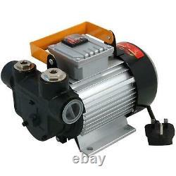 Neilsen 230v Dispensateur D'huile De Pompe De Transfert De Carburant Électrique Diesel Compact Et Portable