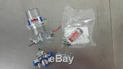 Nouveau Holley 12-802-1 Blue Max Pression Électrique Pompe Et Régulateur De Pression