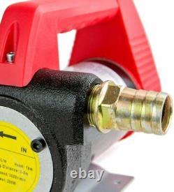 Pompe De Transfert D'extraction De Fluide Diesel Électrique 12v Ensemble Complet V012