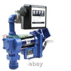 Pompe De Transfert De Carburant Anti-explosif Essence 12v DC 15gpm Diesel Gas Recharge Kit