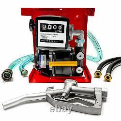 Pompe De Transfert De Carburant Diesel Électrique Biltek Avec Buse Et Tuyau- 110v, 60l/min