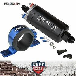 Proflow Efi 380lh 1000hp Pompe À Essence + E85 Bleu Support Conforme Bosch 044 Le Style