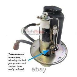 Quantum Fuel Pump +reg & Tank Seal Pour 02-12 Suzuki V-strom Dl1000 # 15100-06g10