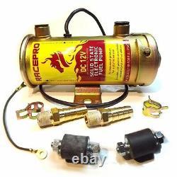 Racepro 476087 Fuel Pump Électrique 12v Cylindrique Universal Facet Remplacement