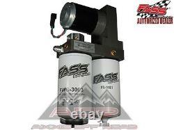 Système De Pompe À Carburant Fass Convient Cummins Diesel Dodge 98,5 À 04 5.9l 165gph Titane