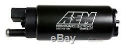 Véritable Aem 50-1000 340lph Haute Performance Intank Efi Pompe À Carburant + Kit D'installation
