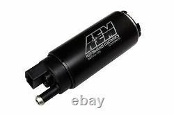 Véritable Aem 50-1000 340lph High Performance Intank Efi Fuel Pump Avec Kit D'installation