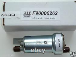 Véritable Walbro/ Ti Automotive F90000262 400lph Universal Racing Fuel Pump Uniquement