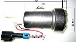 Walbro F90000274 Dans Le Réservoir De Carburant E85 Pompe W 400-0085 Installation Kit 450lph Racing