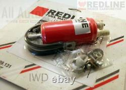 Weber Redline Carburetor Universal Inline Low Pressure Fuel Pump (4-6 Psi) 35gph